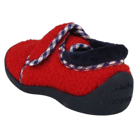 Sleeper Shoes by Boys Infant Clarks Slippers Easy Sleeper Ebay
