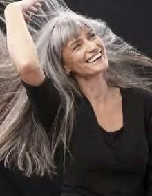 44 years and 75 grey hair grey hair grey hair and look on