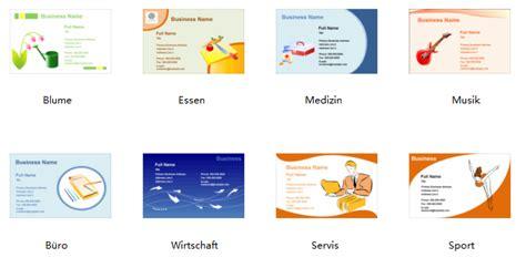 Visitenkarten Erstellen Programm by Visitenkarten Selbst Erstellen Programm F 252 R Gestaltung