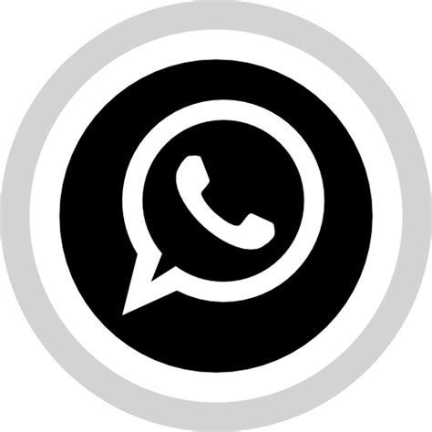 imagenes en blanco y negro whatsapp icono red social medios de comunicacion logotipo