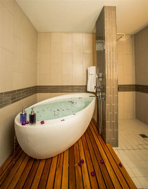houzz bathtubs infinity tub contemporary bathroom seattle by