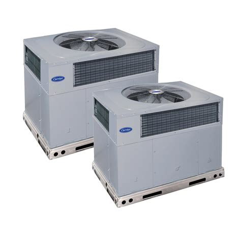 carrier comfort series carrier installed comfort series packaged hybrid heat