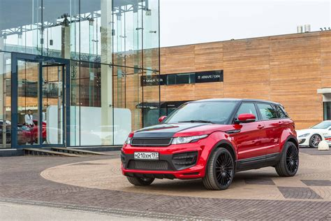 modified land rover larte design range rover evoque modified autos world blog