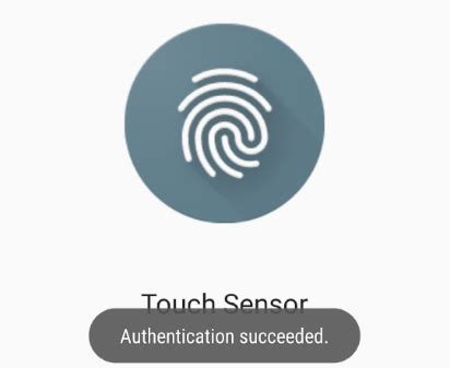android fingerprint an android fingerprint authentication tutorial techotopia
