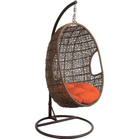 wicker swinging chair hanging egg chair