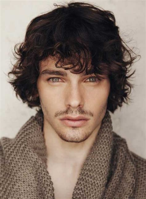 shag hairstyle for black men 25 wavy hairstyles men mens hairstyles 2018