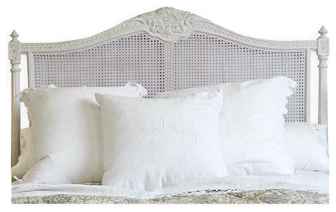 french style cane headboards louis xvi french country natural white painted cane