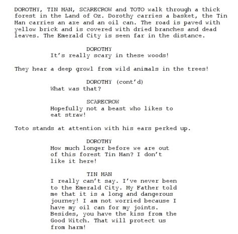 play script template need a script linux journal