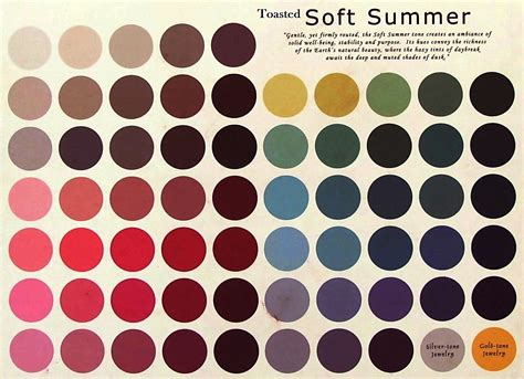 soft summer color palette toasted soft summer tanned cool colors snuffed