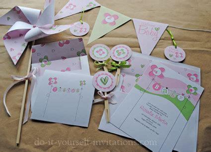 printable invitation kits baby shower free baby shower invitation templates