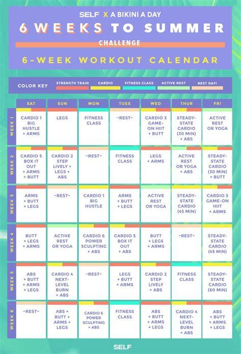 best 25 6 week workout plan ideas on 6 week