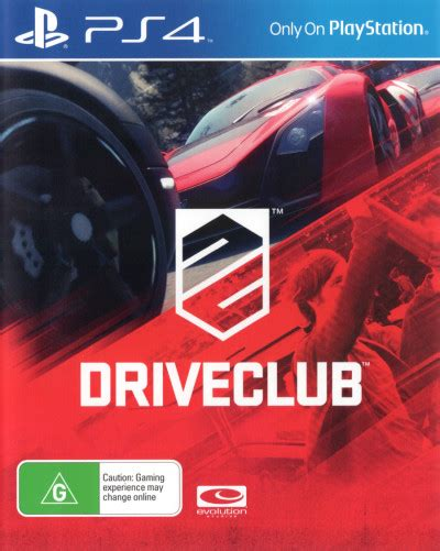 Kaset Ps4 Drive Club Pre Owned driveclub pre owned playstation 4 the gamesmen