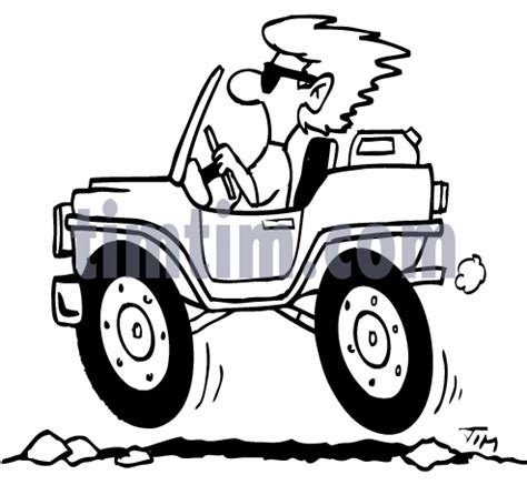 jeep cartoon drawing cartoon images jeep colouring pages