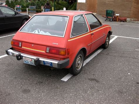 old hatchback old parked cars 1979 dodge colt hatchback