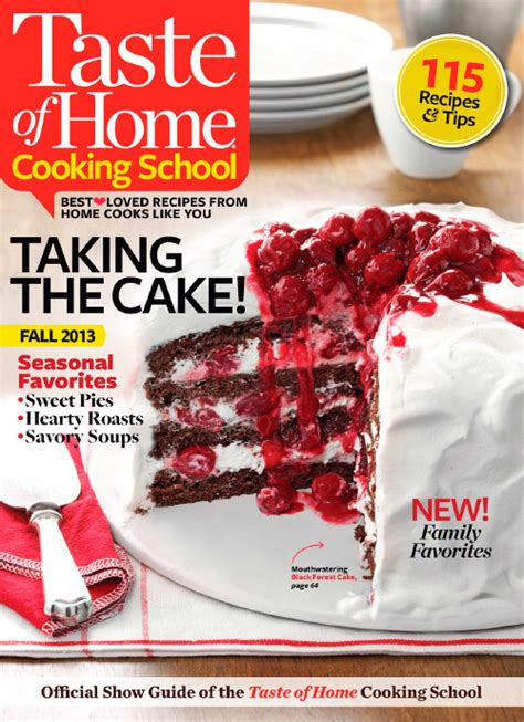 Pdf Taste Home Cooker Classics by Taste Of Home Cooking School Fall 2013 187 Pdf Magazines