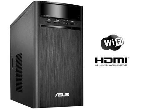 Cpu Murah Asus K31am With J1800 asus k31am j desktop intel celeron j1800 500gb 2gb win 8 1 black price review and buy in