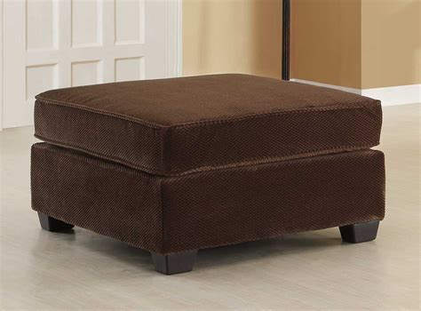 brown fabric ottoman homelegance burke sectional sofa set b dark brown fabric