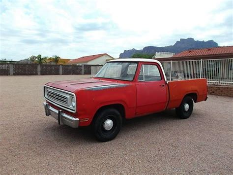 truck bed cers for sale buy used 1973 dodge d100 short bed 318 auto ex fire