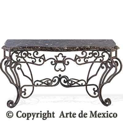 Arte De Mexico Furniture by Ic010 2 Wrought Iron Console Page