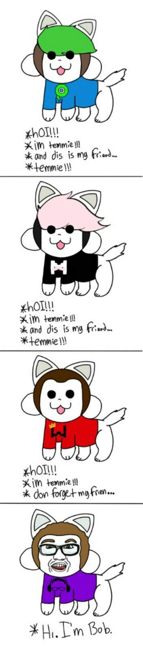 Temmie Memes - temmie youtubers edition undertale know your meme