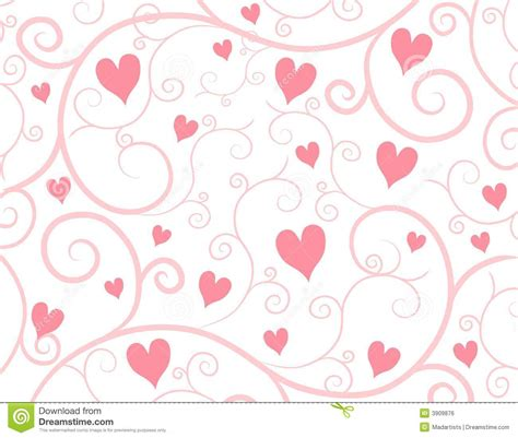heart vine pattern light pink hearts vine background royalty free stock image