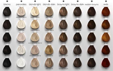 chart of haircolors hairstyle maitreya 2011