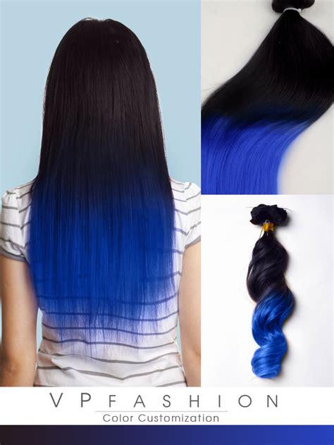 dip dye hair style top of blogs dark blue dip dye human hair extensions for black hair