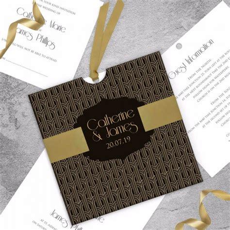 Gatsby Wedding Invitations Uk