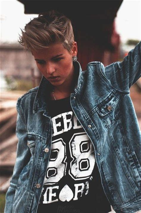 butch pixie haircut 129 best images about hair androgynous lesbian dyke