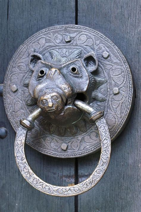 unique door knockers unusual door knocker adel church leeds yorkshire
