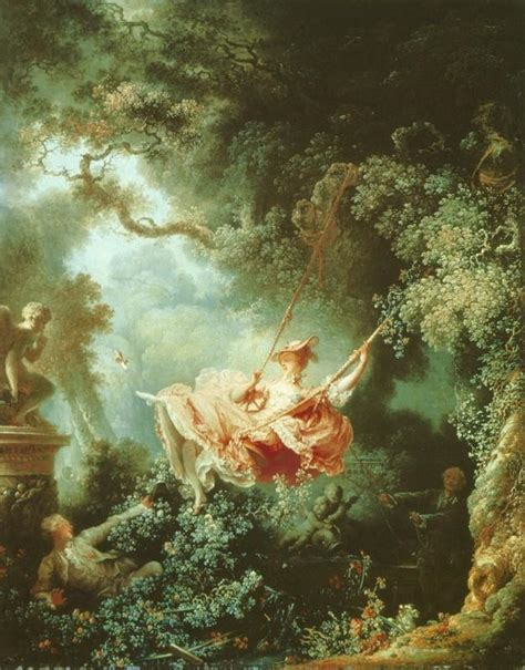 Fragonard The Swing 1766 by Test 3 History 1750 With Decker At State