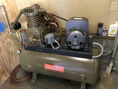 devilbiss air compressor restoration industrial outpost