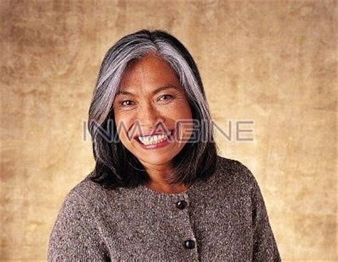 japanesse women with grey hair images of streaks of gray a touch of silver pinterest