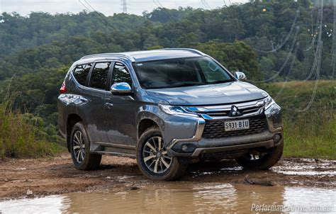 2016 mitsubishi pajero sport review performancedrive