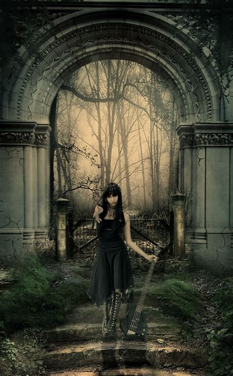 tutorial photoshop gothic secret tutorial about music art and design dark gothic