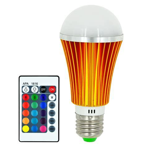 Mengsled Mengs 174 E27 7w Led Rgb Light 16 Colour Changing Led Multicolor Light Bulb