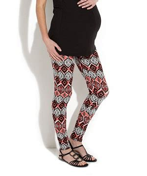 maternity patterned tights aztec print maternity leggings new look 15 99 bumps