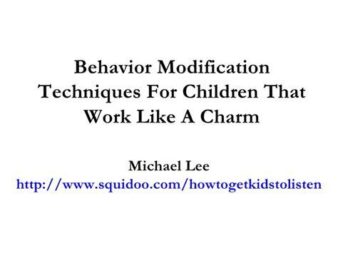 Behaviour Modification Techniques by Behavior Modification Techniques For Children That Work