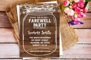 10 farewell invitation templates free sample example