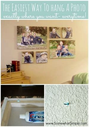 how to hang paintings without putting holes in the wall way to display photos or paintings without putting