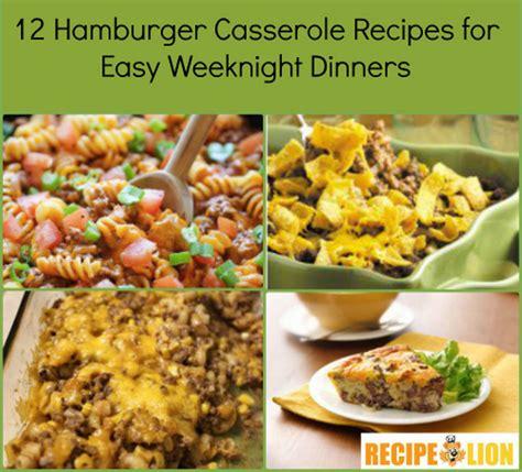hamburger and rice casserole slow cooker hamburger recipe