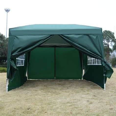 pop up awning tent 10 x 10 ez pop up tent canopy gazebo