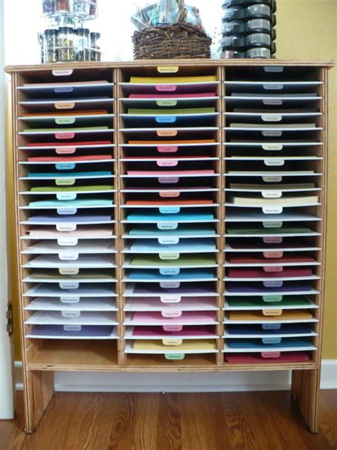 How To Store Craft Paper - if you use stin up cardstock how splitcoaststers