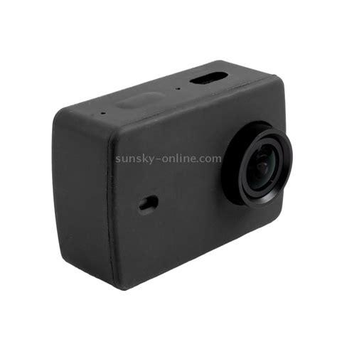 Promo Silicone Lens Cover For Xiaomi Yi 2 4k sunsky for xiaomi xiaoyi yi ii sport