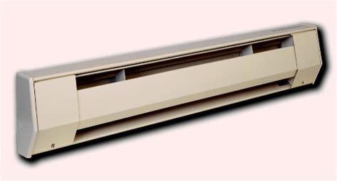 10 ft electric baseboard heater king 10k2425a 2 500 1 875 watt 240 208 volt 10 foot