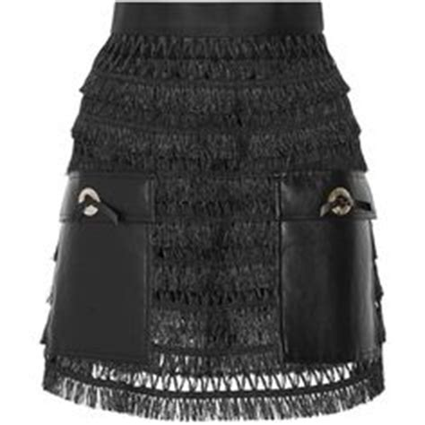 gold skirt polyvore discover and shop the latest in balmain embellished mini skirt 2 220 liked on polyvore