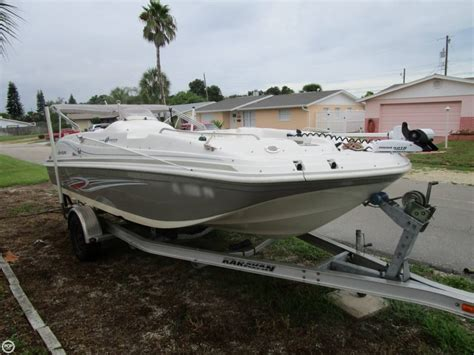 Hurricane Deck Boats For Sale by 2012 Used Hurricane 188 Sun Deck Sport Deck Boat For Sale
