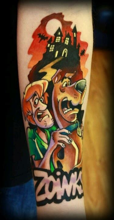scooby doo tattoos 11 sensational scooby doo designs