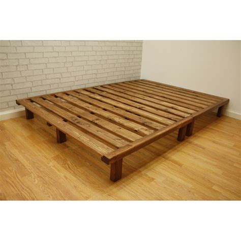 Shiki Futon Bed Frame by Bed Base Frame Plattform Base Portable Bed Frame Humble