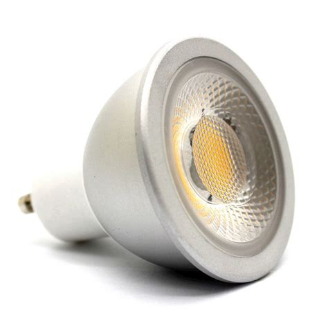Gu10 Led Dimmable Light Bulbs 6w Gu10 Led Bulb Green Dimmable Cob Gu106wdmgr 163 11 25